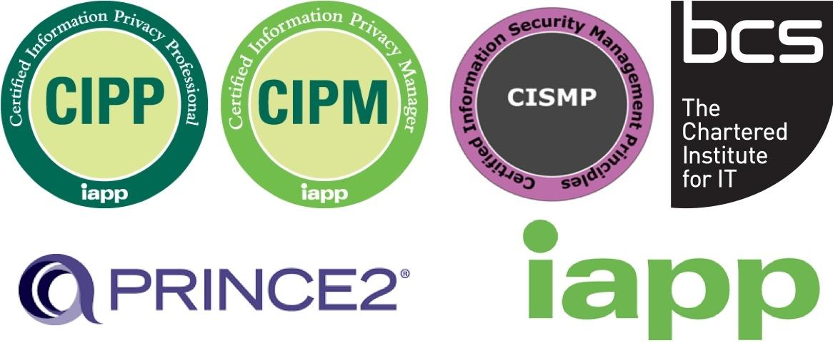 gdprplan accreditations